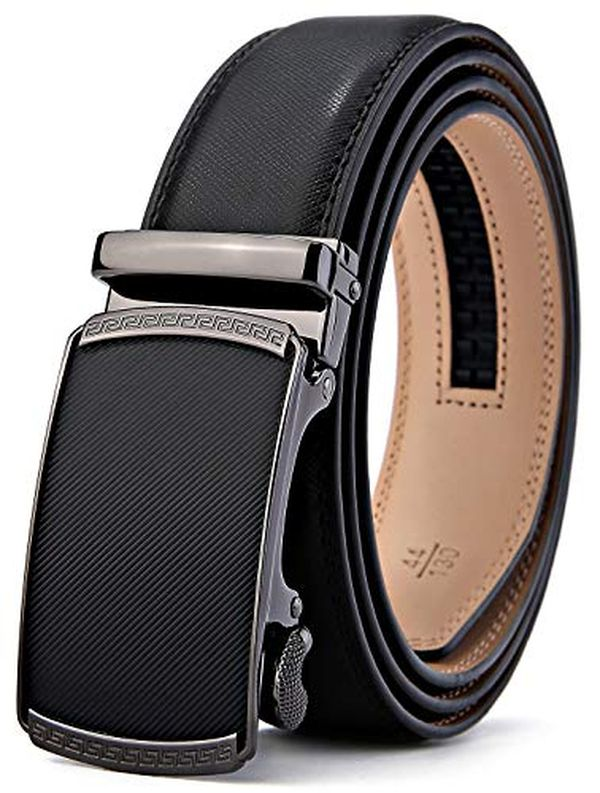 Bulliant Slide Ratchet Belt for Men