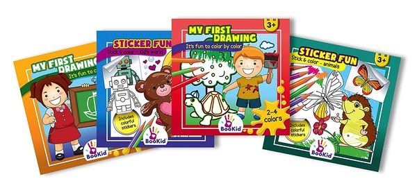 Childrens Activity books good Christmas gifts for 3 year olds