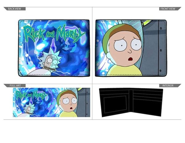Gift ideas of Rick and Morty wallet 3