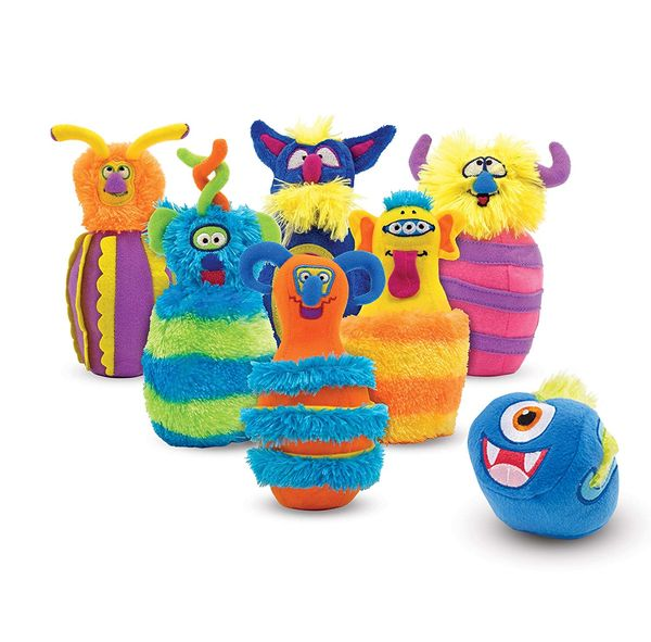 Monster bowling and other cool toys for boys age two