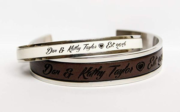 Personalized Matching Bracelets