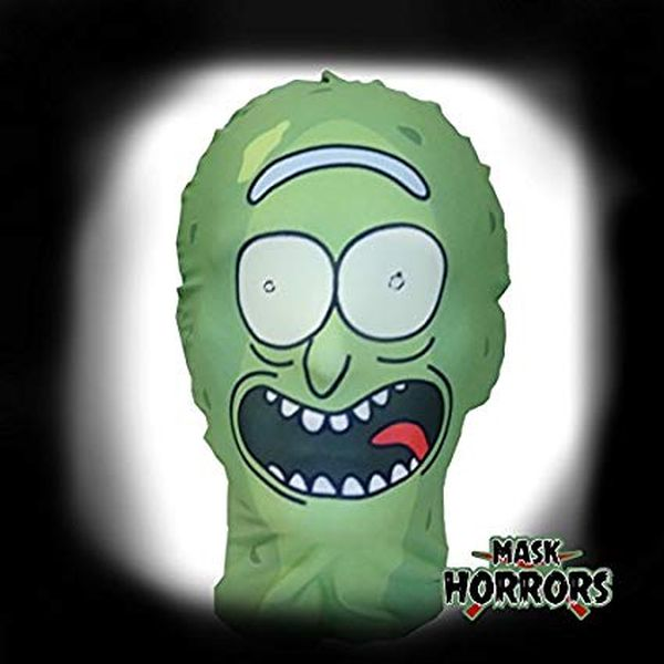 how to make a pickle rick costume