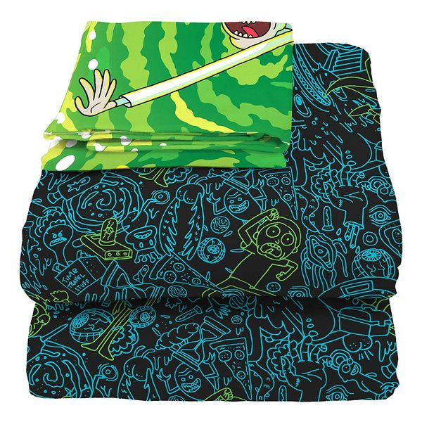 Rick and Morty blanket gift 1