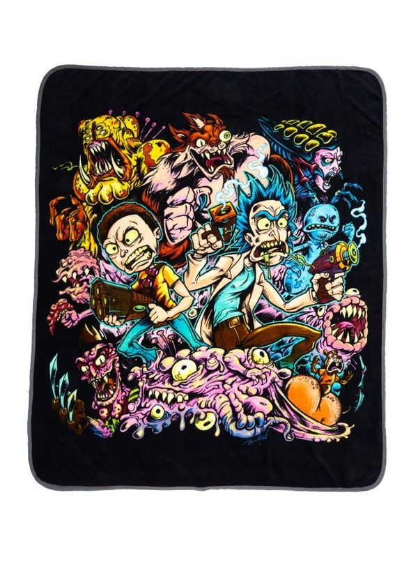 Rick and Morty blanket gift 3