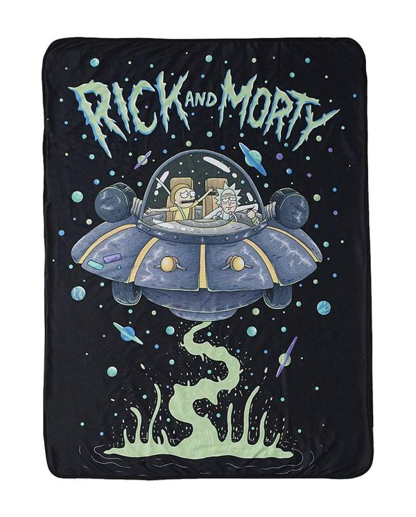 Rick and Morty blanket gift 5