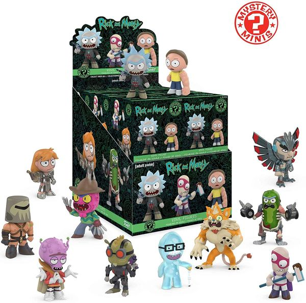 Rick and Morty box set merch 1