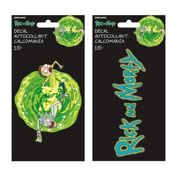 Rick and Morty decals and stickers 2