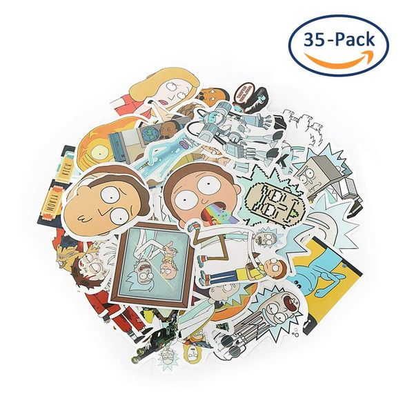 Rick and Morty decals and stickers 3