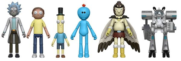 Rick and Morty figures merch 2