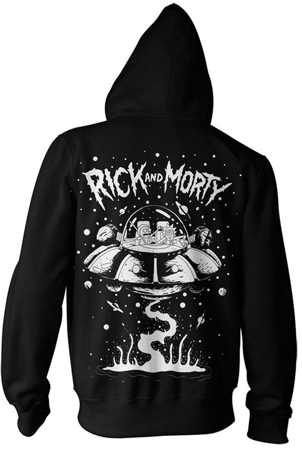Rick and Morty jacket merchandise 3