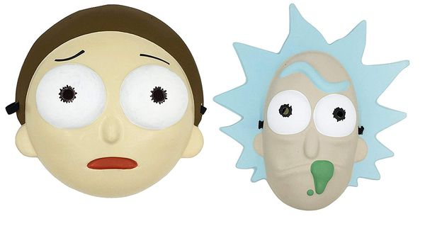 Rick and Morty masks as presents 6
