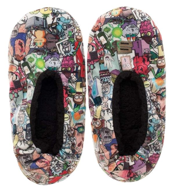 Rick and Morty slippers to give as a gift 1