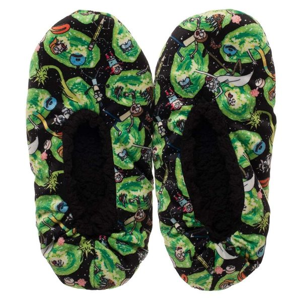 Rick and Morty slippers to give as a gift 2