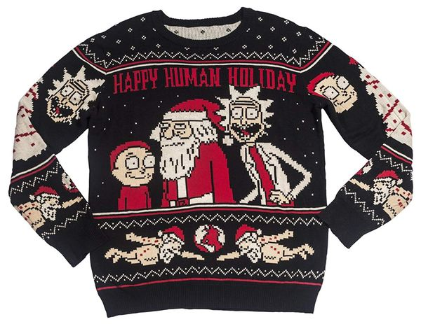 Rick and Morty sweater christmas gift 3