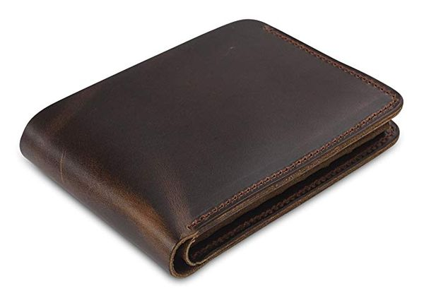 Secret Felicity Mens Genuine Leather Bifold Wallet