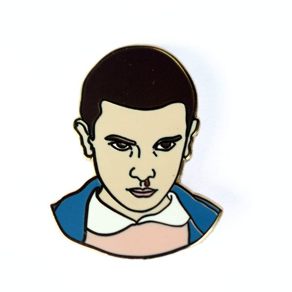 Eleven Enamel Pin by Real Sic