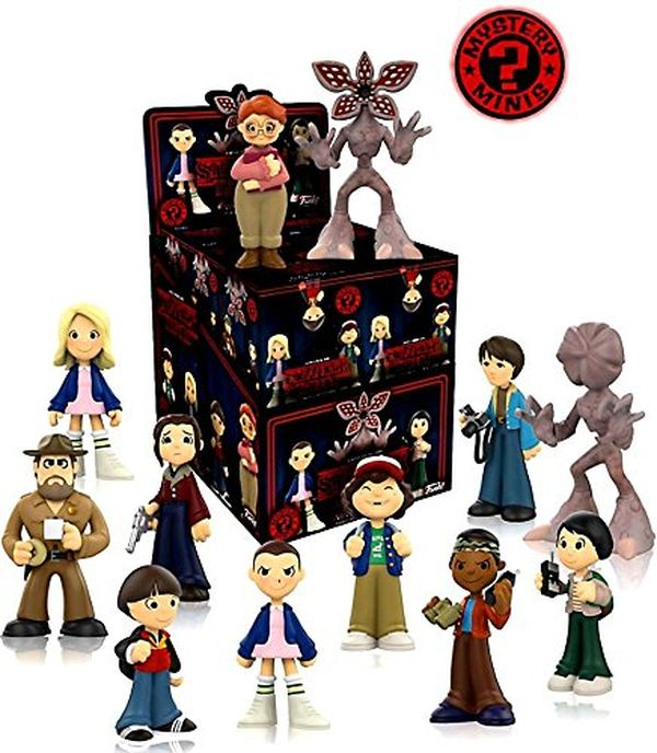 Stranger Things Blind Miniature Figure Display Case of 12 Sealed Individual Boxes