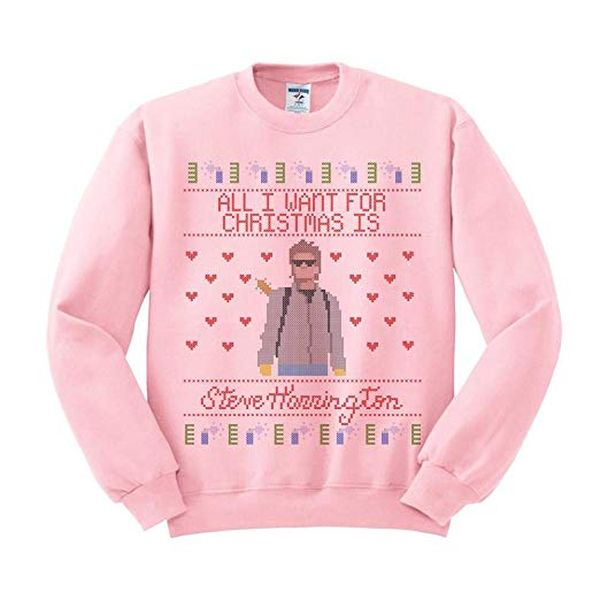 TeesAndTankYou Steve Harrington Christmas Sweatshirt