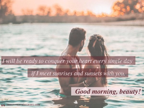 100 Cute Good Morning Text Messages For Him Or Her In 2018