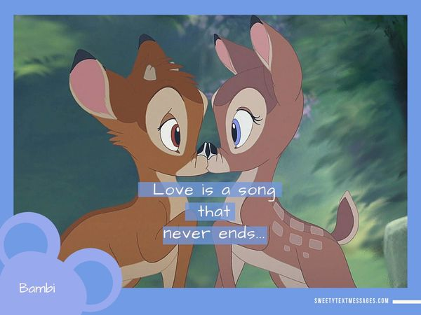 Disney Love Quotes Best Love Sayings From Disney Movies