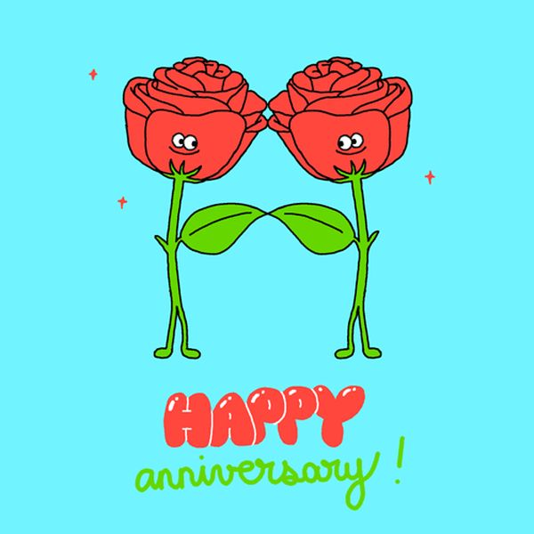Impressive Gif Images for Happy Anniversary Greetings 1