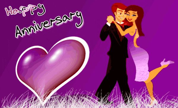 Impressive Gif Images for Happy Anniversary Greetings 3