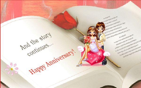 Impressive Gif Images for Happy Anniversary Greetings 4