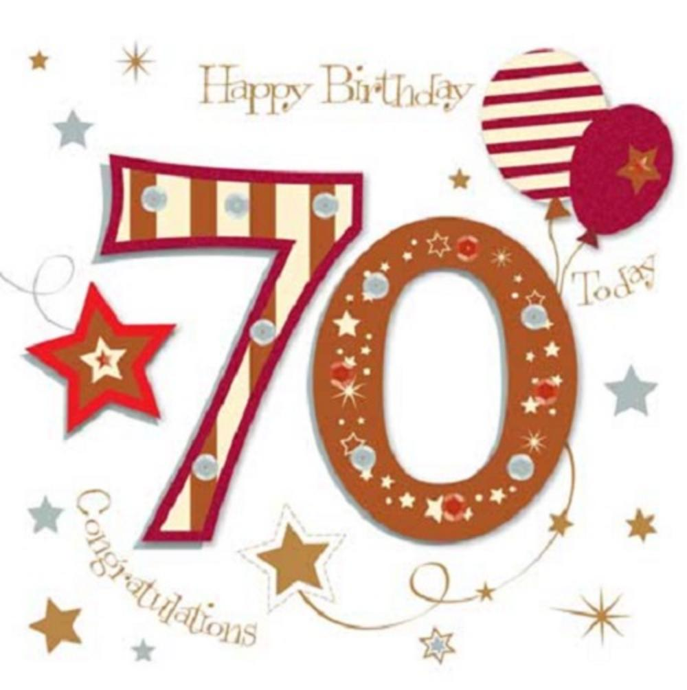 Happy 70th Birthday Best Wishes For 70 Year Olds