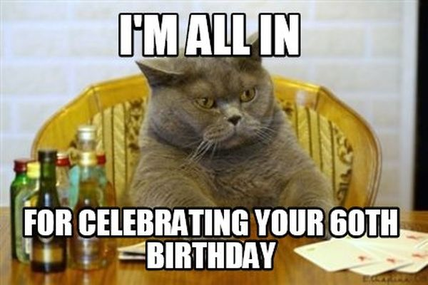 Awesome 60th Birthday Memes and GIFs 6