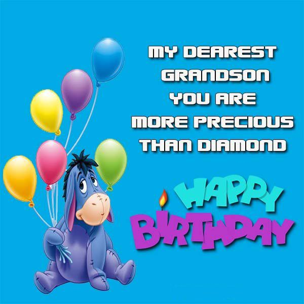 Awesome Happy Birthday Grandson Images 5
