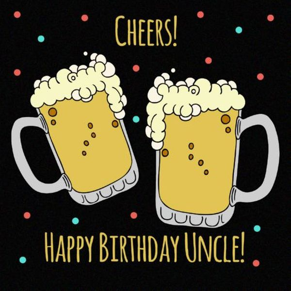 Best happy birthday uncle images 1