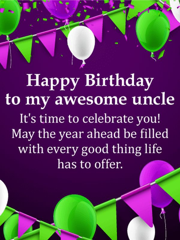 Best happy birthday uncle images 2
