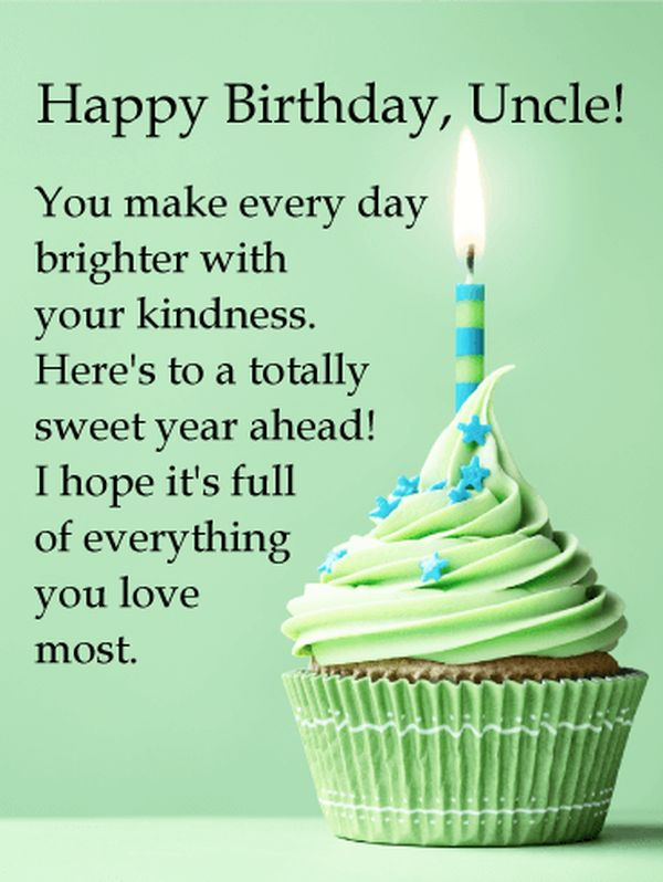 Best happy birthday uncle images 5