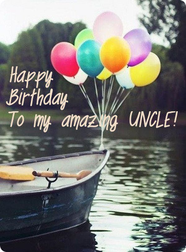 Best happy birthday uncle images 7