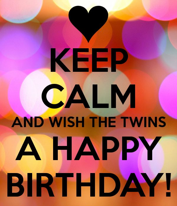 happy birthday twins images Best Happy Birthday Twins Quotes and Wishes happy birthday twins images