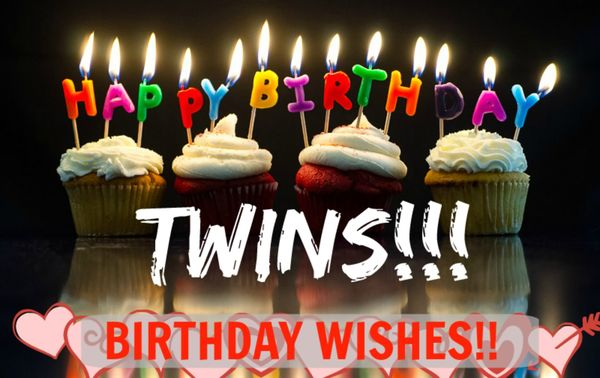 Happy Birthday Twins Images 4